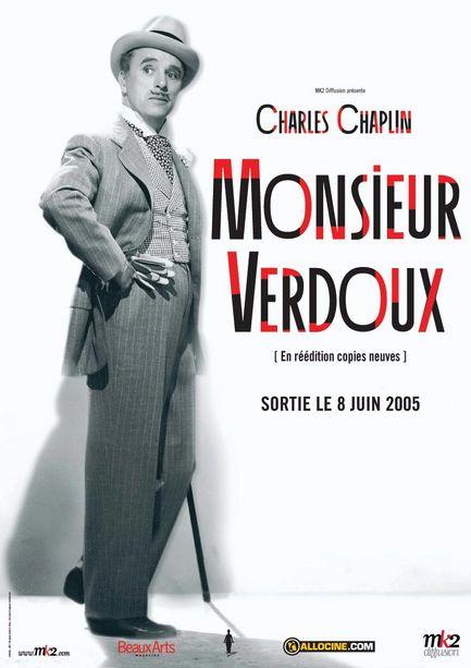 Risultati immagini per monsieur verdoux locandina