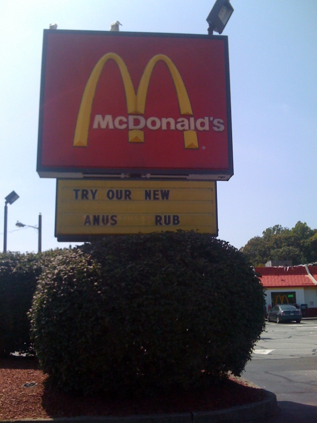 McDonalds, Milford, CT - 8/30/09