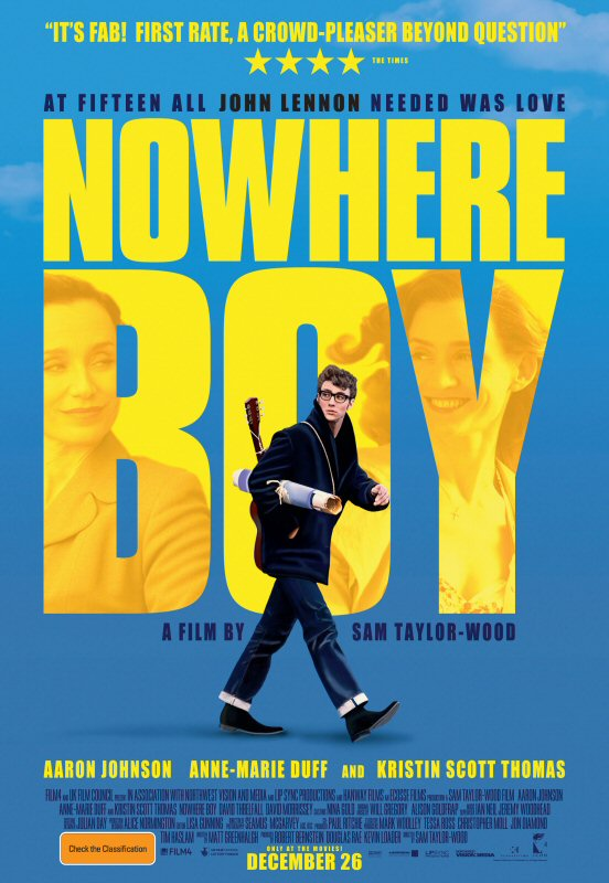 "The Beatles Polska: Brytyjska premiera filmu ""Nowhere Boy"" na DVD"