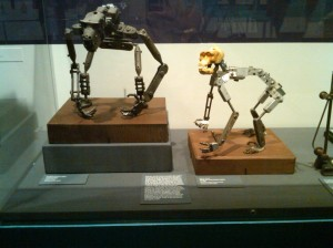 King Kong and Mighty Joe Young armatures
