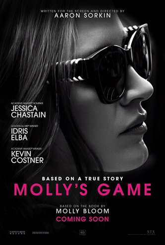 Molly's Game poster